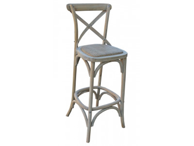 Bordeaux Cross Back Bar Chair