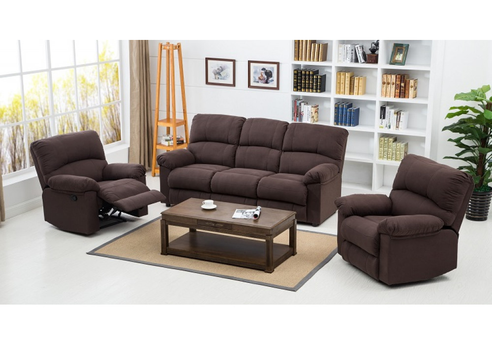 Lithgow 3 Seater and 2 Separate Recliners