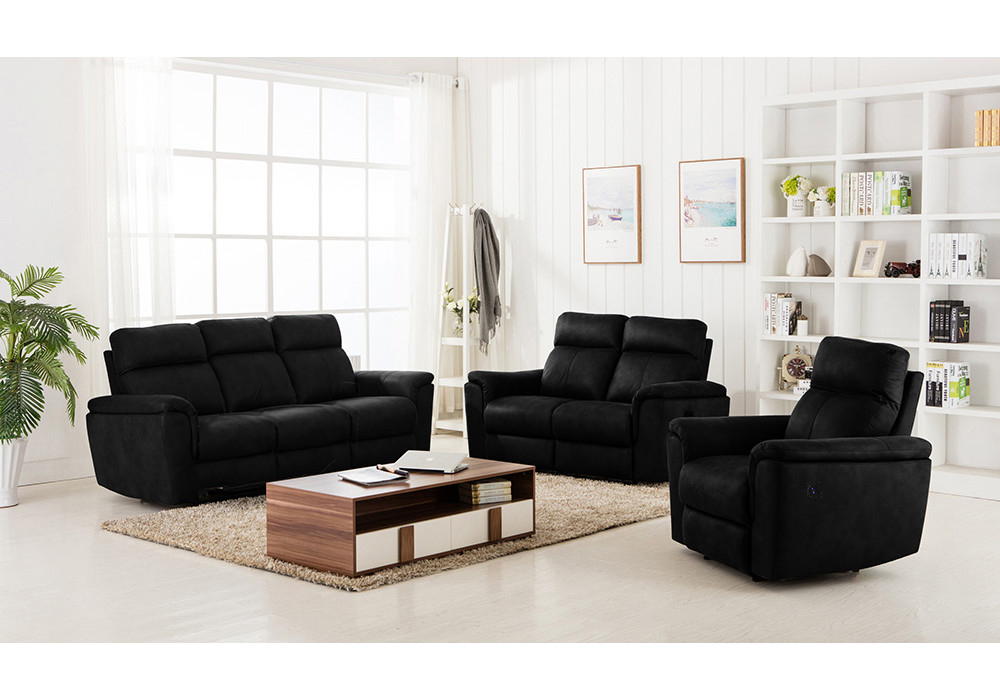 Winston 3 Seater Sofa with 2 Power Recliners